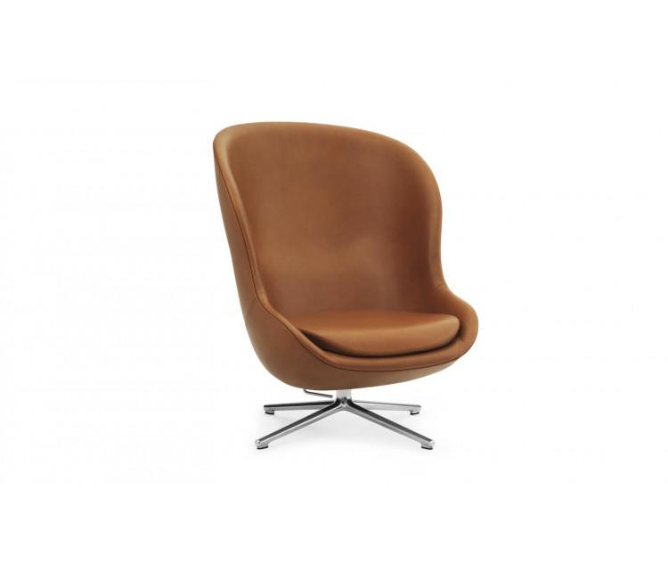 Normann-Copenhagen HYG høj lænestol, læder