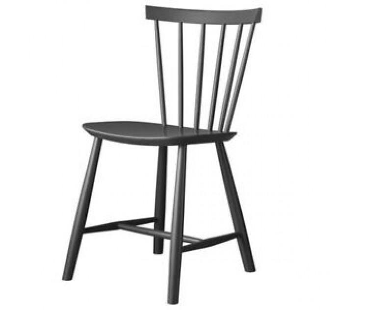 J46 spisestol  design af Poul M. Volther mørk grå