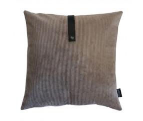 Louise Smærup Corderoy sand velvet pude 50x50 cm