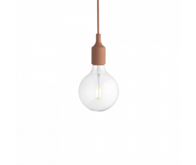 Muuto E27 pendel clay brown
