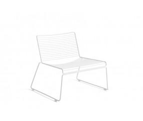 HAY Hee Lounge stol, hvid