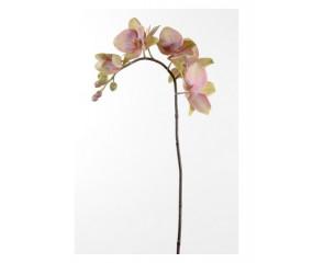 Kunstig orkide i lilla farver 60 cm.