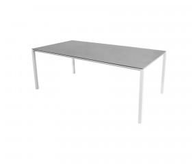 Cane-Line Pure havebord light grey