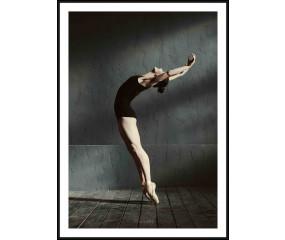 Solo Dancer plakat m. sort aluminiumsramme