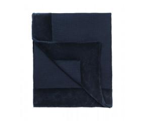 Cozy Living Bedspread Waffle sengetæppe, royal blue
