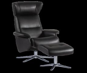 IMG Space 3800 lænestol m fodskammel