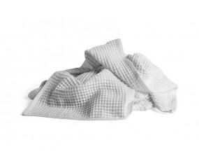 HAY Giant Waffle Bath Towel, Grey