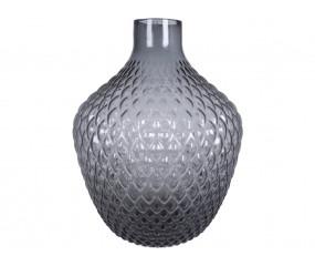 Optic Vase Grå