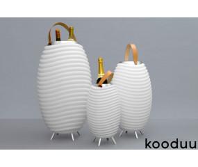Kooduu Synergy Pro -  LED gulvlampe med højtaler & vinkøler