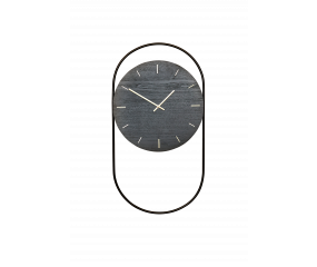 Andersen A-wall væg ur, sort