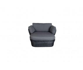 Cane-Line Basket loungestol inkl. hyndesæt
