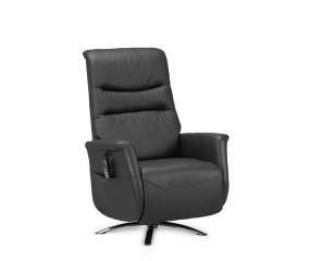 Camilla Hæve/Sænke lænestol, sort