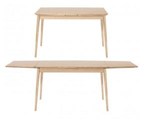 PBJ Designhouse Curve spisebord med udtræk