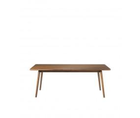 FDB D104 Åstrup sofabord design Isabel Ahm, valnød