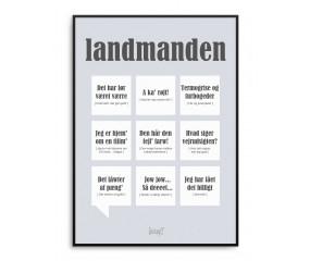 Dialægt Landmanden A5 kort