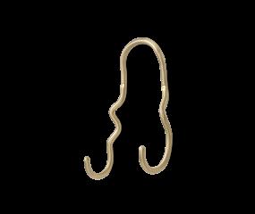 Ferm living Curvature double Hook knag