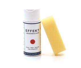 Effekt læderbalsam med svamp