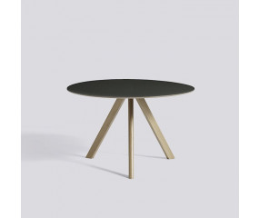HAY CPH 20 Round table, eg sort linoleum