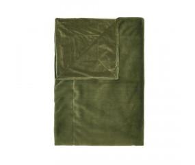 Essenza plaid. furry 150x200 cm. Moss green