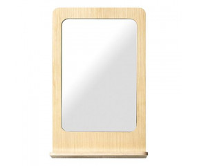 Flow Spejl med hylde design Tom Stepp