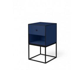 By Lassen Frame 35, sidebord, mørke blå