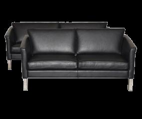 Skalma Gilleleje 3+2 sofasæt, ELMO læder overalt