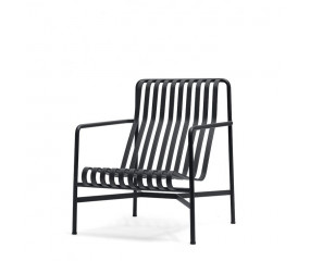 HAY Palissade lounge stol, høj antracit