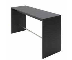 Højbord i sort laminat