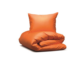 Hästens sengelinned Satin Pure Parisian Orange
