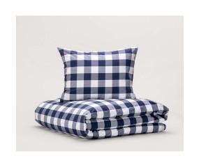Hästens sengetøj Original Blue Check