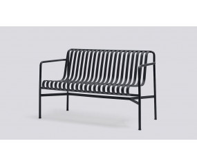 HAY Palissade lounge dining bench, antracit