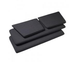 Hyndesæt J148 mørkegrå til 2 prs. sofa