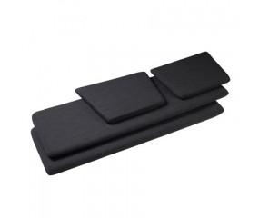 Hyndesæt J149 mørkegråt  til 3 prs. sofa