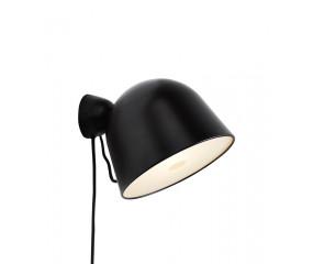 Woud Kuppi væglampe, sort