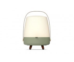 Kooduu Lite-Up Play LED-lampe m. Bluetooth højtaler Petroleum