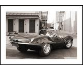 McQueen, plakat 40 x 30 cm