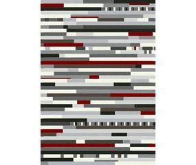 Valencia Multi rød/hvid