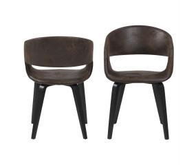 Nova spisestol, brun eller sort