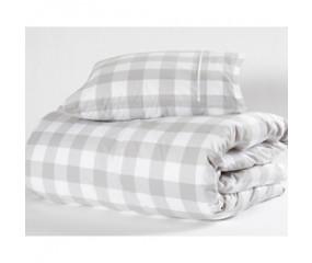 Hästens sengetøj Original  Silver Grey Check