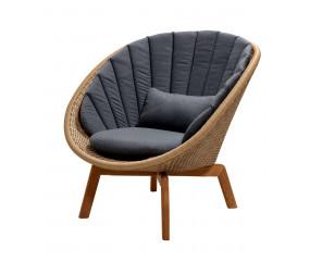 Cane-Line Peacock loungestol, natur