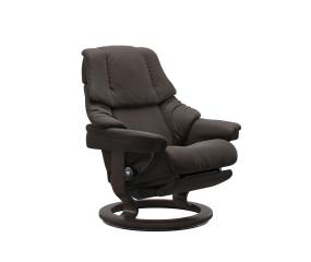 Stressless Reno lænestol med indbygget fodskammel