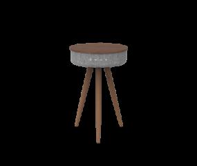 Sinox Bluetooth højtaler & bord i valnøddetræ