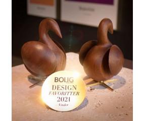 Brainchild Svanen figur vandt Boligmagasinets designpris 2021.