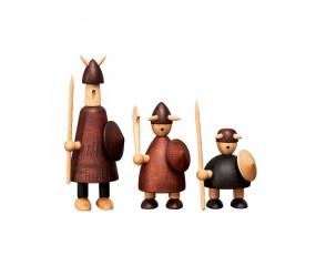 Andersen The Vikings træfigurer gaveæske