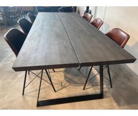 Timber spisebord,moccabrun