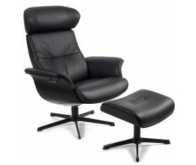 Conform Time out lænestol med X fod og fodskammel med ekstra højde på lænestol og skammel