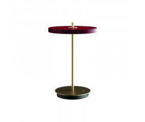 UMAGE Asteria Move bordlampe,lille ruby red