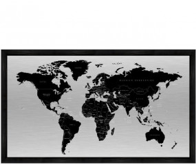 World Map 60x120